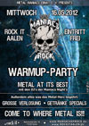 Maniacs of Rock Warm Up Party